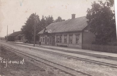 Rūjienas stacija