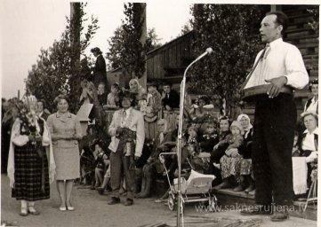 Līgo svētki Rūjienā 1967.gadā - Foto №330