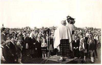 Līgo svētki Rūjienā 1967.gadā - Foto №338