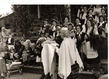 Līgo svētki Rūjienā 1967.gadā - Foto №332