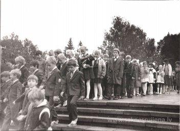Pēdējais 1.septembris pie Ļeņina pieminekļa. - Foto №361