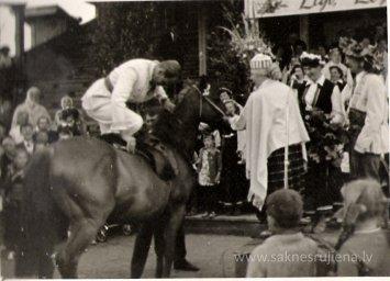 Līgo svētki Rūjienā 1967.gadā - Foto №334