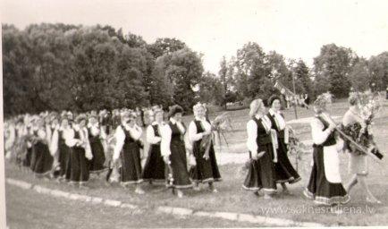 Līgo svētki Rūjienā 1967.gadā - Foto №326