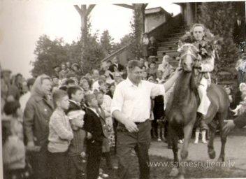 Līgo svētki Rūjienā 1967.gadā - Foto №337