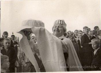Līgo svētki Rūjienā 1967.gadā - Foto №340