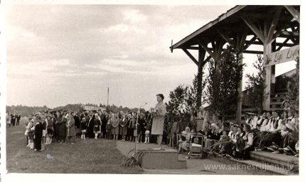 Līgo svētki Rūjienā 1967.gadā - Foto №327