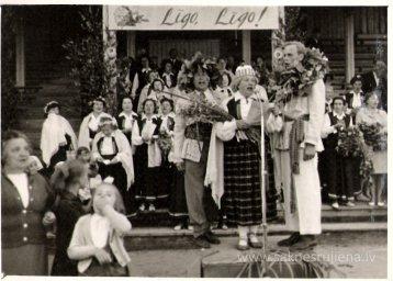 Līgo svētki Rūjienā 1967.gadā - Foto №336